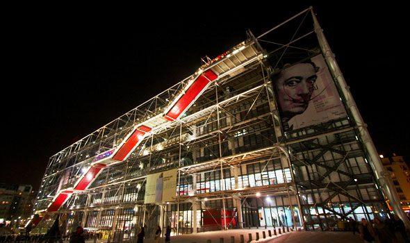 Il Centro Georges Pompidou, tutto il meglio dell'arte contemporanea a Parigi