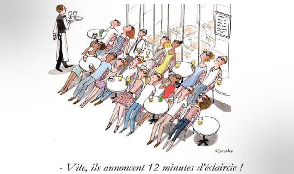 """""""Les parisiens"""", i parigini visti dall'illustratrice giapponese Kanako"""
