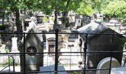 Cimitero di Montmartre a Parigi