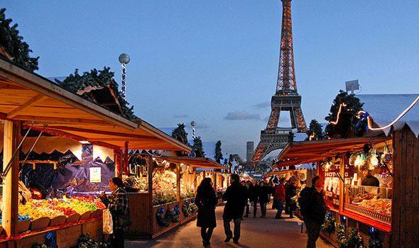 I mercatini di Natale 2016 a Parigi