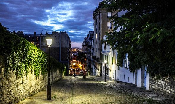 Il quartiere di Montmartre