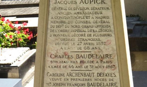 Tomba Charles Baudelaire