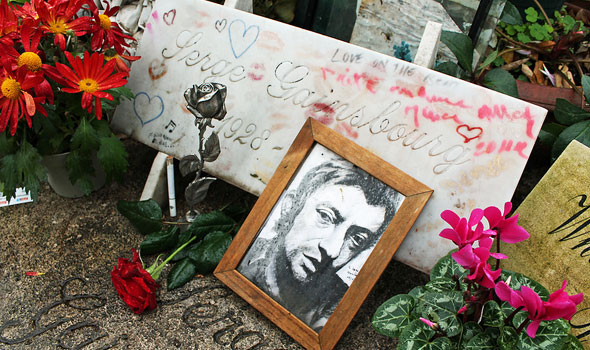 Tomba Serge Gainsbourg