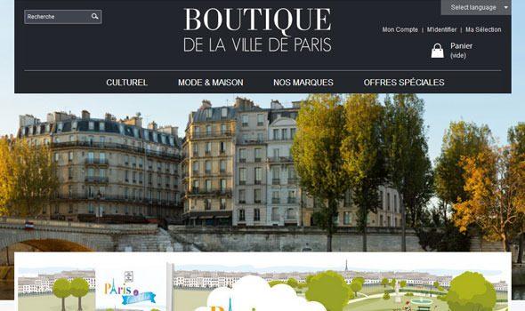 La boutique de la ville de Paris, porta a casa un pezzo di Parigi!