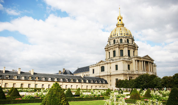 Les Invalides e la tomba di Napoleone a Parigi