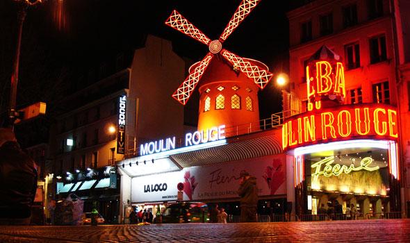 Cabaret a Parigi: il Moulin Rouge