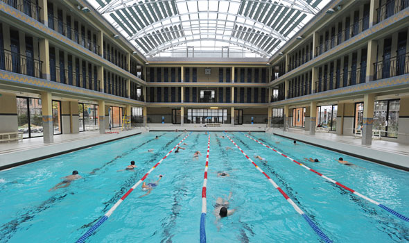 Le 6 pi belle piscine di parigi for Piscine 50m paris