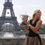 Sharapova, foto show a Parigi