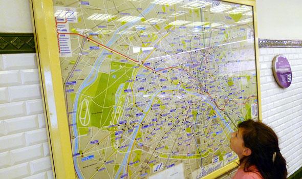 Le zone della metro di Parigi