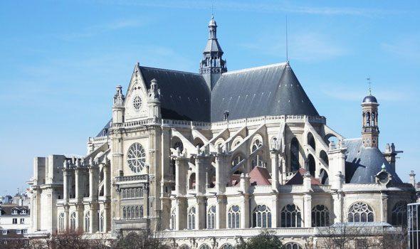 La Chiesa di Saint-Eustache a Parigi