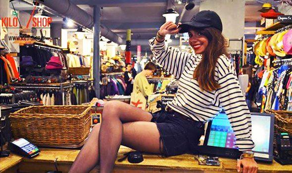 Kilo-Shop: il negozio di Parigi dove si vendono vestiti al Kilo