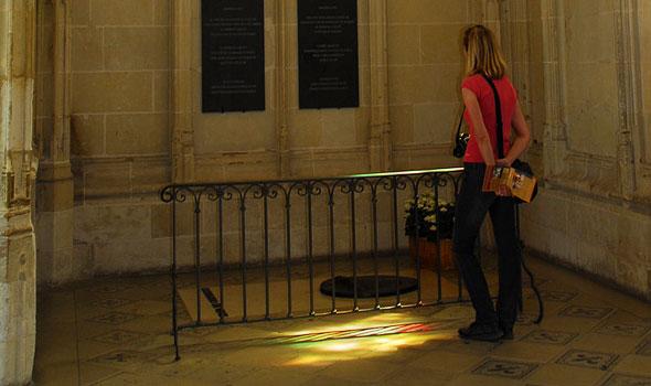 La tomba di Leonardo Da Vinci