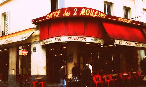 Il Café des 2 Moulins, il celebre bar de Il favoloso mondo di Amélie