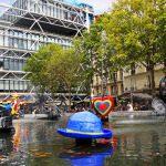 L'armoniosa e colorata fontana Stravinsky di Parigi
