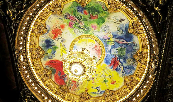 Il dipinto di Chagall