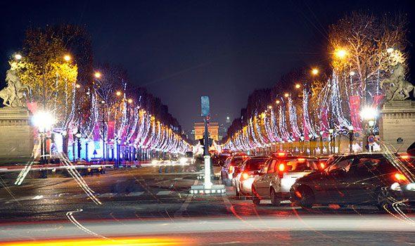 Natale 2015: le illuminazioni natalizie sugli Champs-Elysées