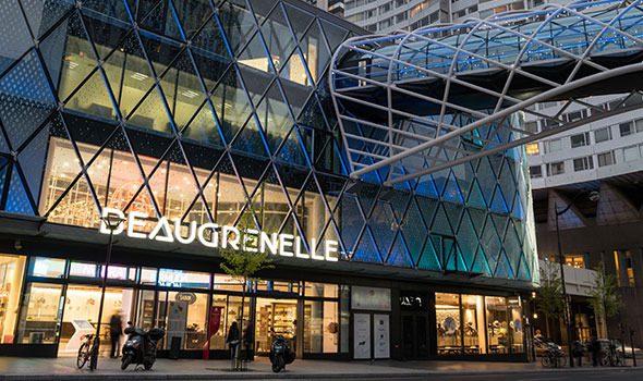 Il centro commerciale Beaugrenelle di Parigi: modernità e tanto shopping