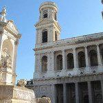 La chiesa di Saint-Sulpice a Parigi