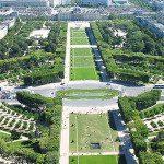 Il Campo di Marte (Champ-de-Mars): splendido luogo di relax all'ombra dalla Torre Eiffel