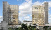 """La moderna e spettacolare Biblioteca BNF """"François Mitterrand"""" di Parigi"""