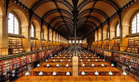 La biblioteca sainte genevi ve di parigi un vero paradiso for Sitios web de arquitectura