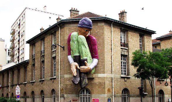 Il Gigante della rue Tombe Issoire a Parigi