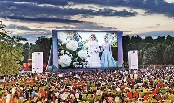 Cinéma en plein air 2015