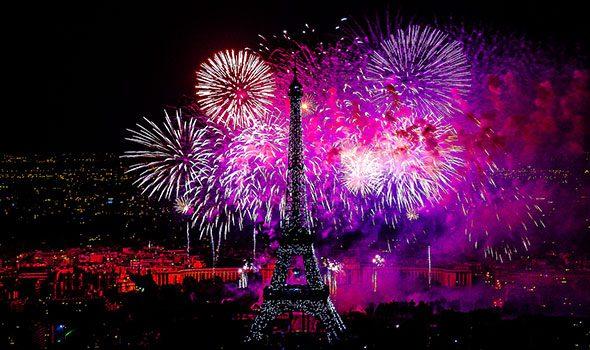 Concerto e Fuochi d'artificio del 14 Luglio 2015