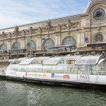 Il Batobus, visitare Parigi in barca