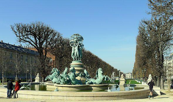 Il raffinato giardino dei grandi esploratori a Parigi