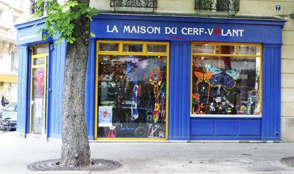 "La Maison du Cerf-Volant, la ""casa degli aquiloni"" di Parigi"