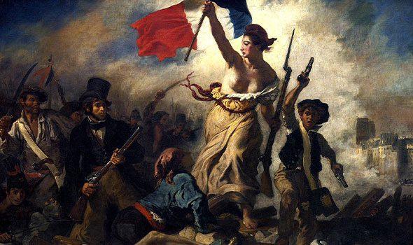 """La """"Marianne"""", rappresentazione allegorica della Repubblica Francese"""