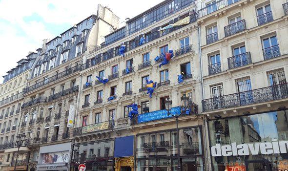 L'eccentrico aftersquat al 59 di rue de Rivoli a Parigi