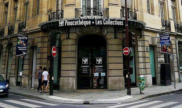 La Pinacoteca di Parigi, galleria d'arte con grandi e originali mostre internazionali (chiusa definitivamente nel 2016)