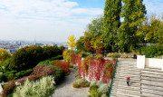 Il Parco di Belleville, tanto verde e uno splendido panorama su Parigi