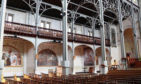 """Notre-Dame-du-Travail, la curiosa chiesa """"proletaria"""" di Parigi"""