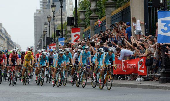 Arrivo del Tour de France 2016