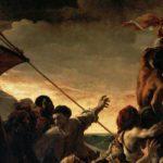 La zattera della Medusa, il capolavoro di Théodore Géricault presente al Louvre di Parigi