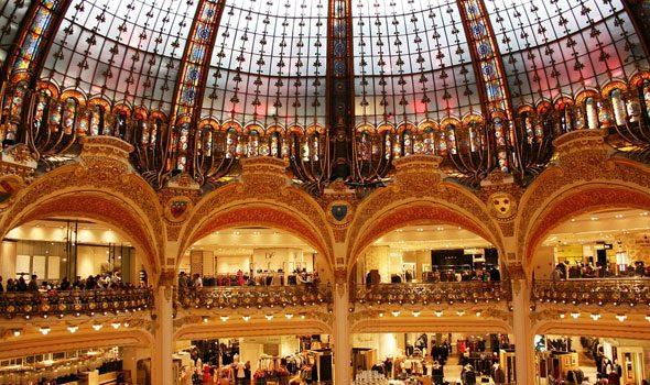 Le Gallerie Lafayette di Parigi: dove gli amanti dello shopping e dell'architettura si incontrano