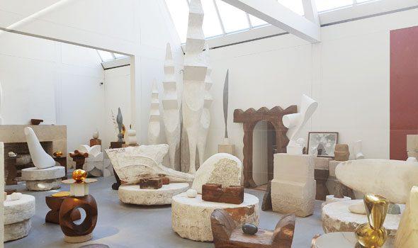 L'atelier Brancusi di Parigi, il laboratioro e le opere del grande scultore rumeno