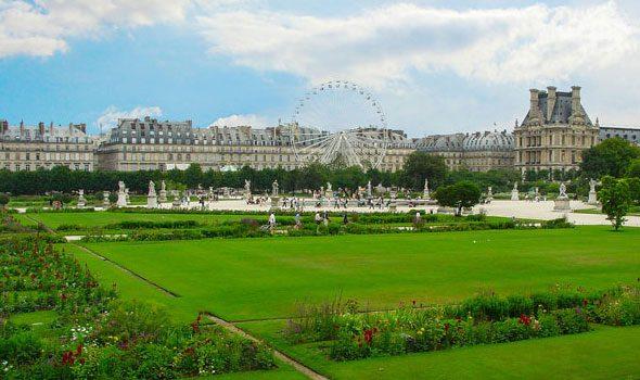 Il giardino delle tuileries il pi grande e antico di parigi - Giardino francese ...