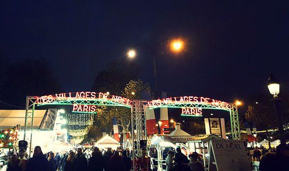 Mercatino di Natale sugli Champs-Elysées 2016