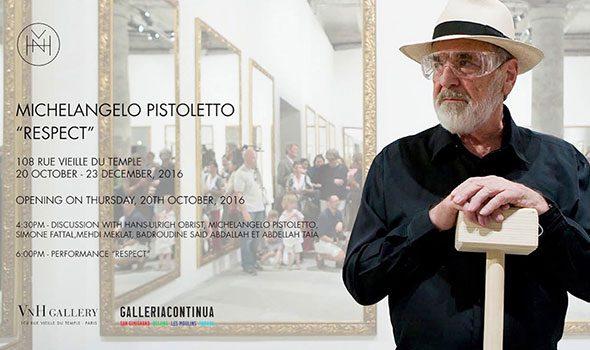 Michelangelo Pistoletto – Mostra alla VNH Gallery