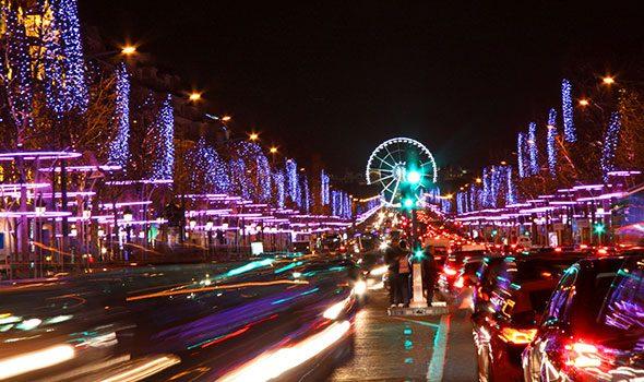 Natale a Parigi 2016: La ruota panoramica in Place de la Concorde
