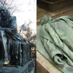 Le 2 statue portafortuna di Parigi