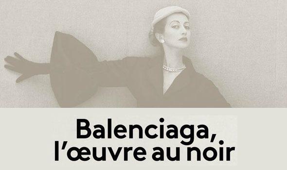 Balenciaga – L'oeuvre au noir