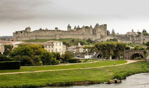 Carcassonne, l'antica città fortificata francese