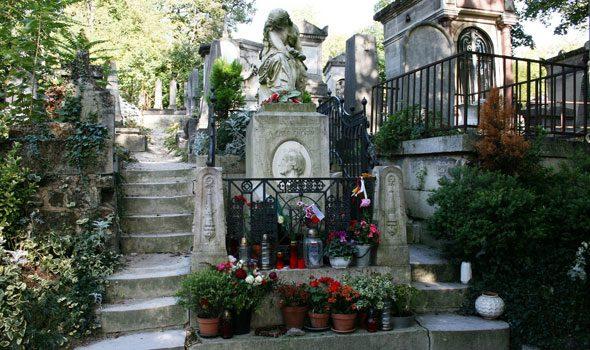 Cimitero Père Lachaise di Parigi