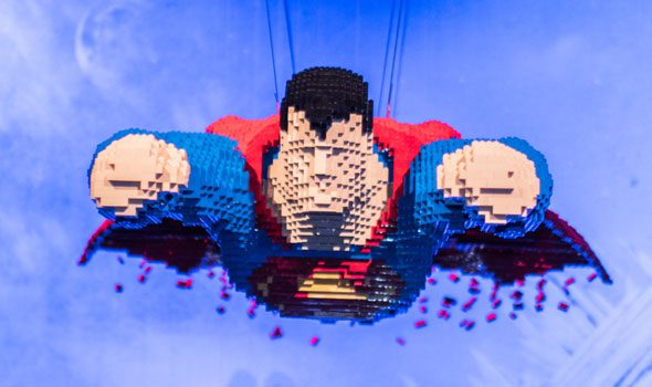 Art of the Brick - DC Super Heroes