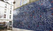 """Il muro del """"Ti amo"""" a Parigi: romanticismo e impatto sociale"""